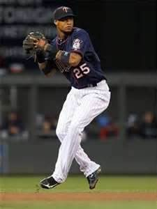 Pedro went from AA to starting shortstop for the Twins in 2012.