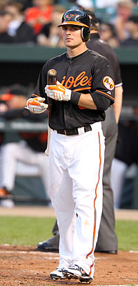 Ryan Adams missed out on The Show in 2011, eventually falling off the Orioles 40-man roster.