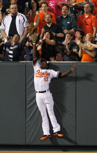 Xavier Avery had a few weeks where he was the Orioles' starting left fielder and made plays like this.