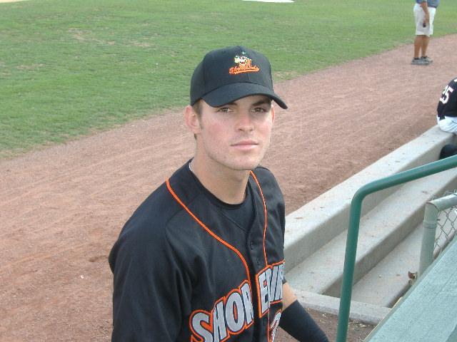 Ryan Adams is the Shorebird currently swinging a red-hot bat.