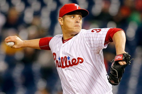 David Hernandez did good work for the Phillies in 2016, but is once again a free agent.