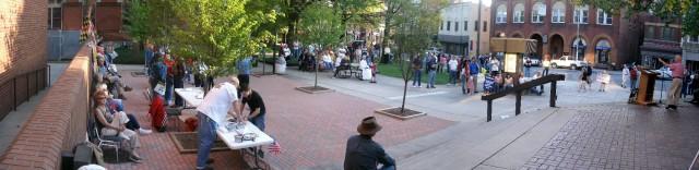 My last shot was taken around 6:30 as the crowd began to thin.