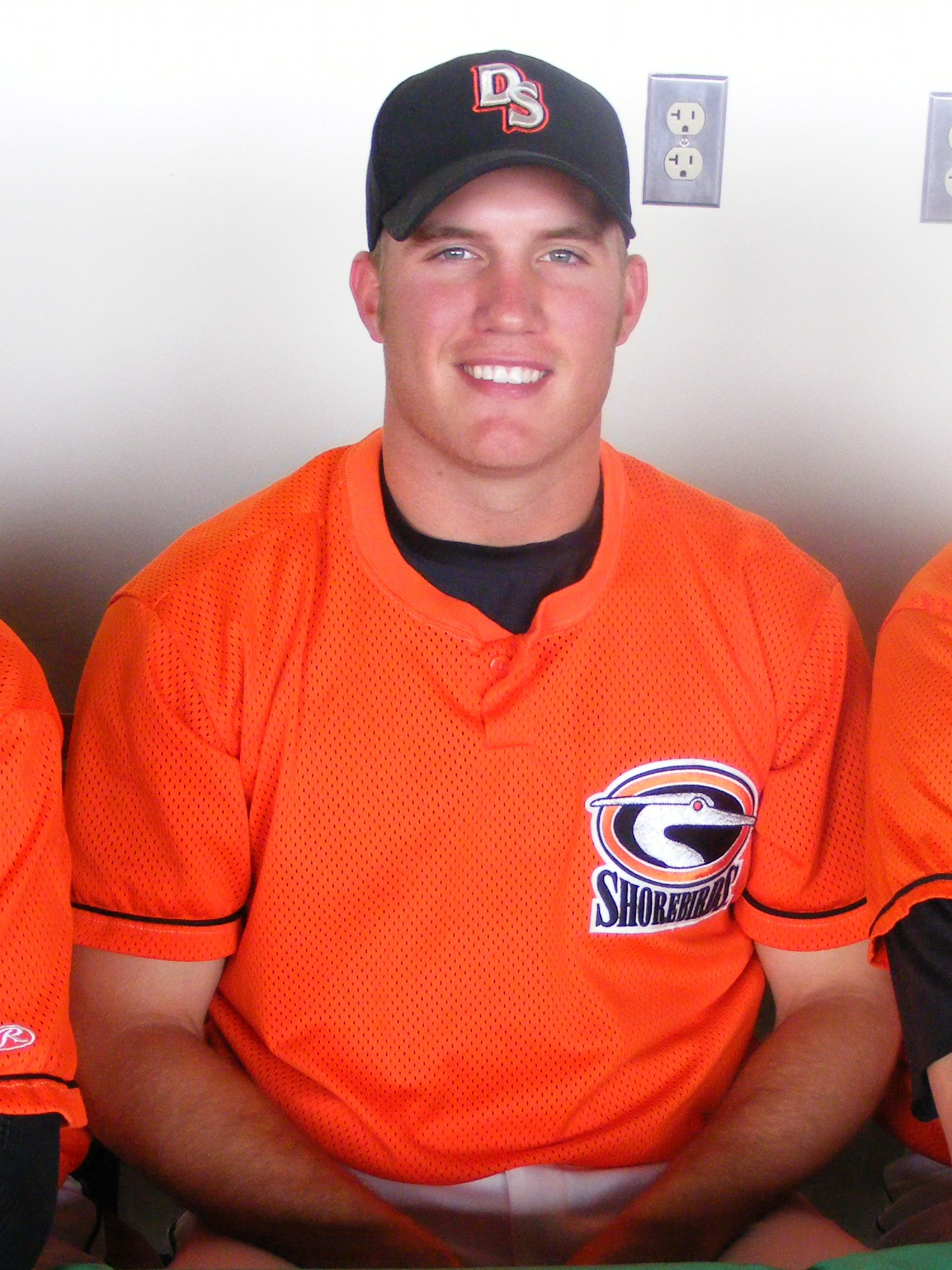 Bobby Bundy posed for this shot during a Meet the Players lunch in April.