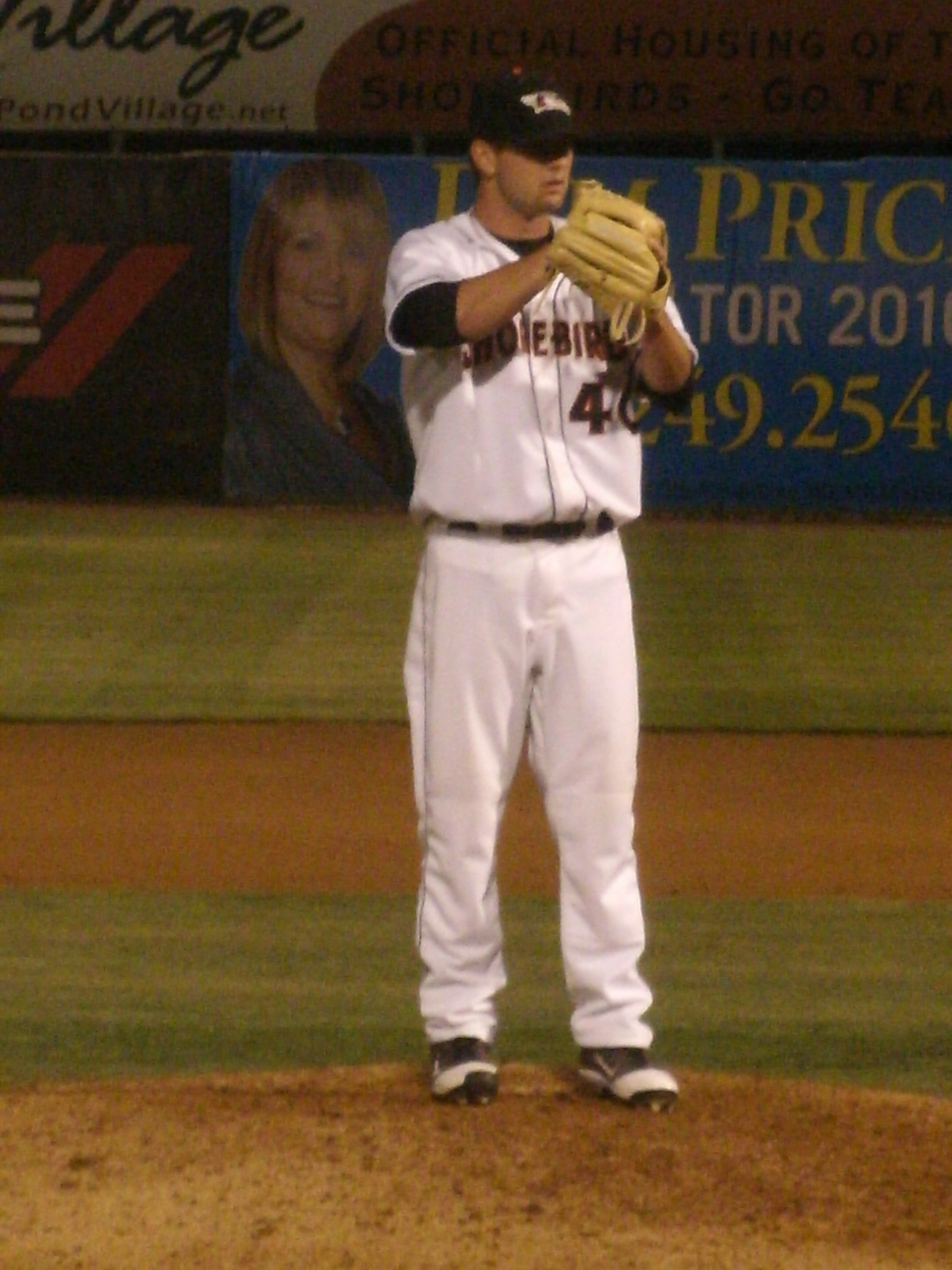 David Walters gets set to face Savannah in an April 27 game. He would toss a scoreless ninth.