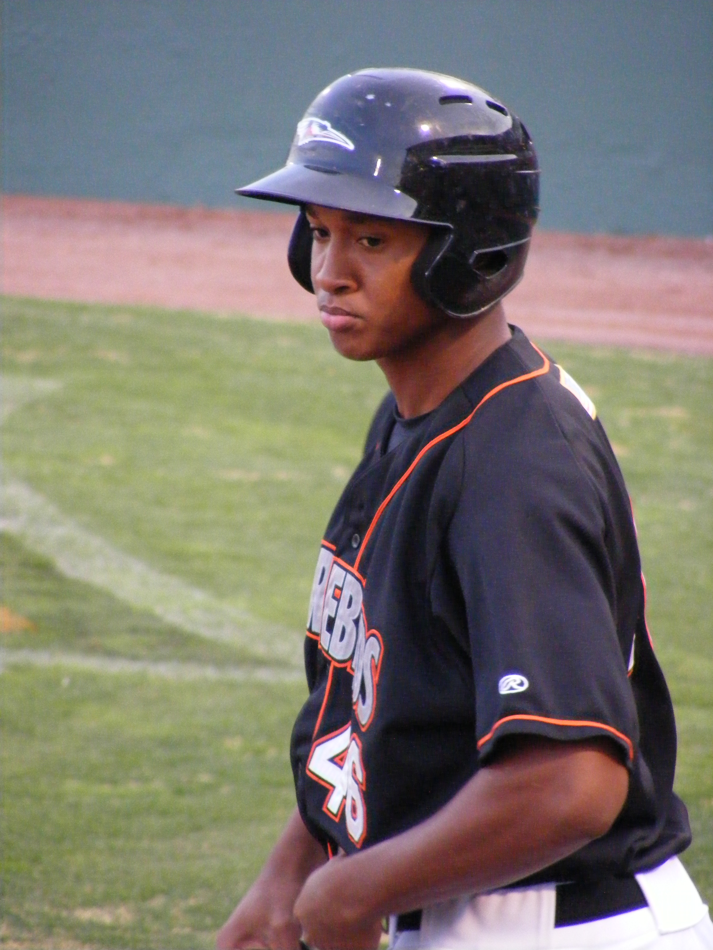 Jonathan Schoop gets ready for a plate appearance in an April game.