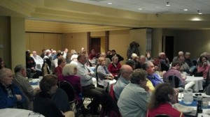 The crowd at the Wicomico Maryland Society of Patriots meeting, January 15, 2013.
