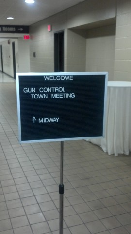 2A meeting sign