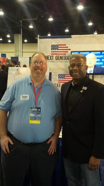 Allen West and I