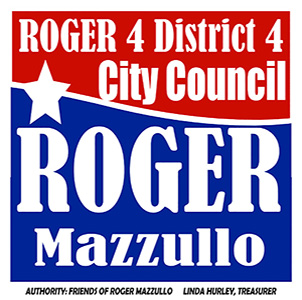 Roger is running in Salisbury's new District 4.