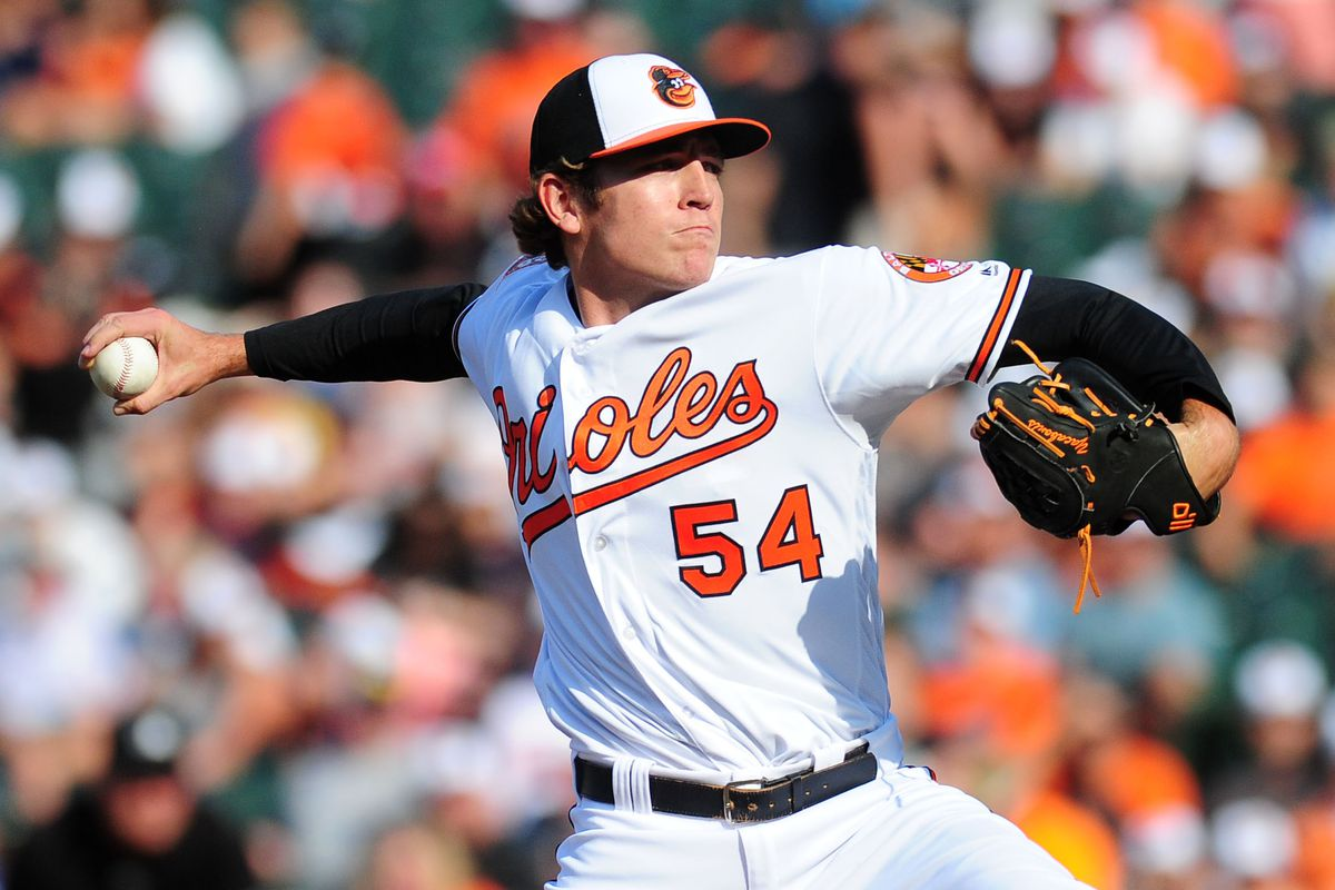 Another member of the 2014 Shorebirds to make the Show, Yacabonis was one of those effectively wild pitchers who finds some success in the bigs.