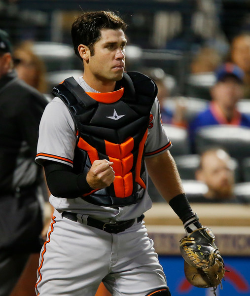 Known more for his defense, Austin Wynns ended up showing well as Baltimore's primary backup catcher in 2018.